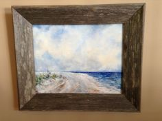 Summer Sky Summer Sky, My Arts, Frame, Painting, Home Decor, Homemade Home Decor, Painting Art, A Frame, Paintings