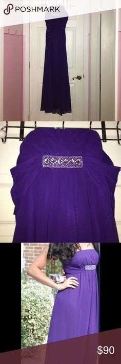 purple prom dress great condition!! purple prom dress only worn once Dresses Prom