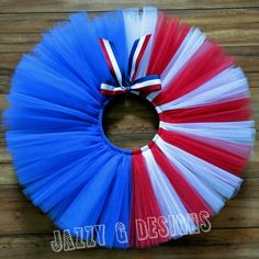 How fab is our Patriotic 4th of July tutu?! Pick one up for you or your little firecracker!! Newborn-adult sizes available!!