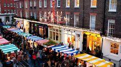 Los Mercadillos de Navidad de Londres: Belgravia Christmas Sunday at Elizabeth Street and Pimlico Road