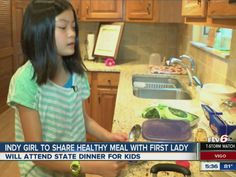 Indianapolis girl heads to White House for healthy recipe contest