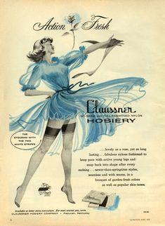 Full-Fashioned Nylon Vintage Stockings promotion....