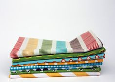 For the green home, these reusable napkins are charming and practical.