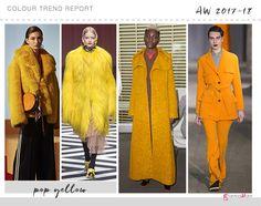 pop yellow color trend