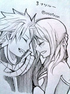 Lucy and Natsu <3