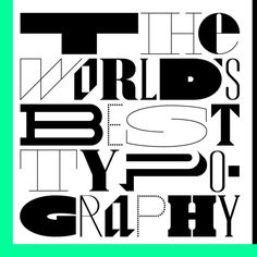 Calling all designers! This month we open the TDC64 competition to find the world's best type. Watch for our announcement. Design by Triboro. Read about the competition, join TDC, and get ready: https://www.tdc.org/about-the-competitions/  *  *  #TDC64 #typedirectorsclub #typography #type #design #graphicdesign #communication #print #poster #book @triborodesign