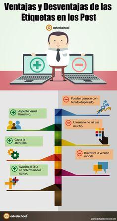 Ventajas y desventajas de las etiquetas en los post... #SocialMedia #SocialMediaOP