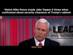 Watch Mike Pence evade 6 TIMES when confronted about security clearance for Trump's conspiracy team