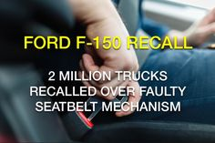 Ford has announced that it will recall 2 million Regular Cab and SuperCrew Cab trick models due to a seatbelt defect that could cause a fire during a crash. Product Liability, Ford, Trucks, Models, Templates, Truck, Fashion Models