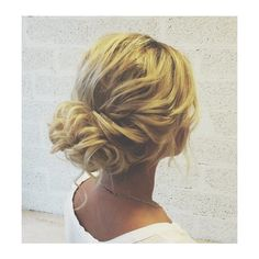 60 Updos for Thin Hair That Score Maximum Style Point ❤ liked on Polyvore featuring beauty products, haircare and hair