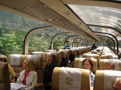 Rocky Mountaineer Gold Leaf Car
