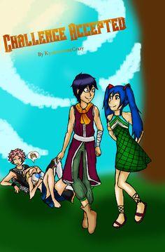 Challenge Accepted: A RoWen and Nalu Doujinshi by KyokoAnimeCrazy.deviantart.com on @DeviantArt