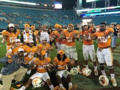 So proud of my TaxSlayer Bowl Champions!  GBO!