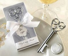 Bottle opener-Victorian wedding key