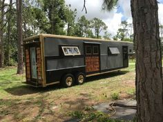 Horse Trailer Converted into Tiny Home 001