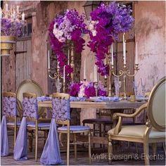 Lush Purple Table