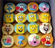 Spongebob-Cupcake