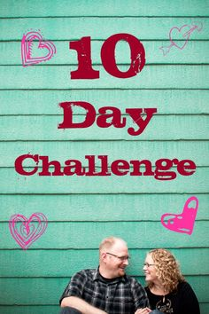 Welcome to the 10 Day Challenge! 10 Days that can change your marriage forever! The 10 Day challenge is all about turning up the heat in your marriage! We have discovered when a couple intentiona… Marriage Romance, Happy Marriage, Love And Marriage, Marriage Blogs, Biblical Marriage, Marriage Relationship, Christian Couples, Christian Marriage, 10 Day Challenge