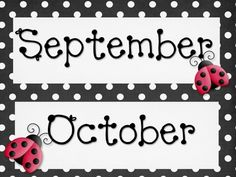 "Here's a black & white polka dot calendar set to add to your classroom, regardless of theme!  This sleek calendar set comes with a set of monthly headers, plus 1 blank and a ""Today's Date"" header as well.  You'll also receive a set of the calendar days PLUS a sheet of blanks that can be used for labels, nametags, or anything you choose!"