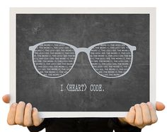 Fine Art Print Nerdy Stationary Techie Card Print from Original Illustration Geeky Art Postcard Gift for Nerds Physical Product