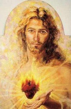 Sacred Heart of Jesus statue!