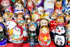 Ukranian Nesting Dolls at the Christmas Village in Baltimore - http://www.baltimore-christmas.com www.facebook.com/christmasvillage.baltimore