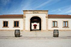 l'ingresso della nostra cantina a Chiaramonte Gulfi