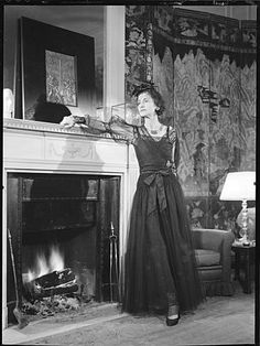 Gabrielle Chanel in her suite at the Ritz hotel in Paris. Published in Harper's Bazaar in 1937, this photo was chosen for the Chanel No.5 advertisement. For the first time, Chanel herself promoted her perfume,1937