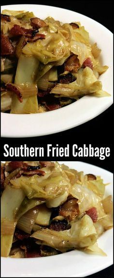 You could make an entire meal out of this Southern Fried Cabbage with bacon and onion! It is the most popular side dish on the site! Millions of people have tried it and loved it. One of our all ti (Fried Cabbage Recipes) Southern Fried Cabbage, Bacon Fried Cabbage, Fried Cabbage Recipes, Cracker Barrel Boiled Cabbage Recipe, Fried Cabbage And Potatoes, Baked Cabbage, Sauteed Cabbage, Cheesy Potatoes, Side Dishes