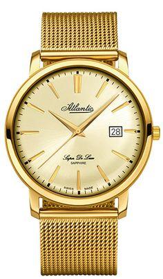 Zegarek męski Atlantic Super De Luxe 64356.45.31 - sklep internetowy www.zegarek.net