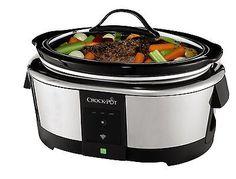 Crock-Pot SCCPWM600-V1-033 WeMo Enabled Smart Slow Cooker