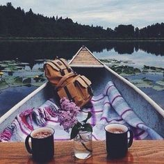 *walks you to the lake* here we are! *i say as I help you onto the canoe* ~Grayson @mgracevball