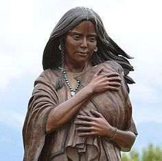 Sacagawea was a Shoshone interpreter best known for being the only woman on the Lewis and Clark expedition  into the American West.