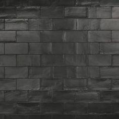 Pinch Black Subway Tiles, Ceramic Subway Tile, Black Tiles, Tile Projects, Stone Tiles, Home Depot, Flooring, Ceramics, Chester