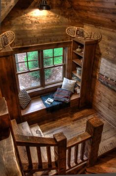Sweet Home, Log Cabin Homes, Log Cabins, Log Cabin Kitchens, Cabins And Cottages, Cabins In The Woods, Cozy House, Cozy Cabin, Small Log Cabin