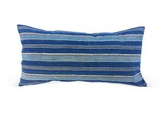 Striped African Indigo Pillow on OneKingsLane.com