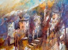 Eric Laurent watercolors -