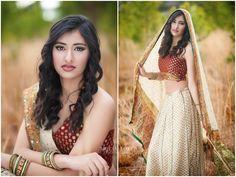 Senior Picture Ideas for Girls | Senior Poses | Indian Girl Sari | Follow my SENIOR GIRL inspiration board at www.pinterest.com/jilllevenhagen
