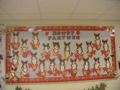 Cowboy Bulletin board Make the horse into a giant horse.  Come up with a cute saying.