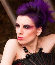 2 tone hair colors for short hair | Short Purple Hair | Hair Colors Ideas