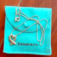 Tiffany & Co: Paloma Picasso Loving Heart Necklace