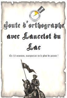 Rituel Orthographe : Sur le thème du roi Arthur et de la Table Ronde