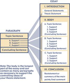 infographics that will teach you how to write an essay like a essay structure