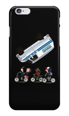 Our Van Flip - Stranger Things Phone Case is available online now for just £5.99. Fan of Stranger Things? You'll love our Van Flip - Stranger Things phone case, available for iPhone, iPod & Samsung models. Material: Plastic, Production Method: Printed, Authenticity: Unofficial, Weight: 28g, Thickness: 12mm, Colour Sides: Black, Compatible With: iPhone 4/4s   iPhone 5/5s/SE   iPhone 5c   iPhone 6/6s   iPhone 7   iPod 4th/5th Generation   Galaxy S4   Galaxy S5   Galaxy S6   Galaxy S6 Edg