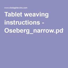 Tablet weaving instructions - Oseberg_narrow.pdf