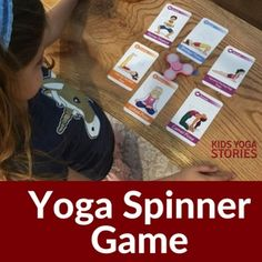 How to play a yoga spinner game - to learn various kid-friendly yoga moves for kids in a fun and active way! What you need: fidget spinner + yoga cards for kids. Yoga Games, Pe Games, Games For Kids, Activities For Kids, Learn Yoga, How To Do Yoga, Yoga Moves For Kids, Childrens Yoga, Responsive Classroom