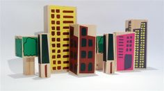 architect blocks for kids, Christopher Jarratt Wooden Building Blocks, Wooden Blocks, Kids Blocks, Woodworking Toys, Designer Toys, Wood Pieces, Wood Toys, Toy Boxes, Home Art