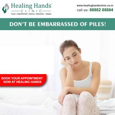 Over a million people suffer from piles every year in India. It is indeed disturbing but one need not be embarrassed to speak about it. Speak up and seek help!! Book your appointment today at https://bit.ly/2yJrjV5 #speakup #HealingHandCares #PilesTreatment  #PilesSurgeon  #Pilesclinic #HHC