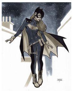 Batgirl by Mahmud Asrar