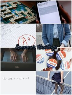 """Spencer Hastings aesthetic Pretty Little Liars """"everyone have a secret"""" by @aurorafloris"""